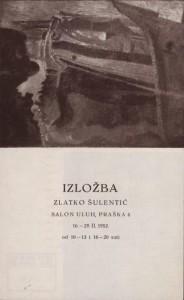 Izložba Zlatko Šulentić