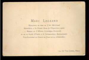 Marc Legrand redacteur en chef de L'Art Meridional
