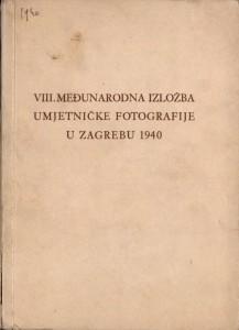 VIII. Međunarodna Izložba umjetničke fotografije u Zagrebu 1940