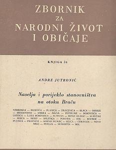 Knj. 34 (1950) : Antropogeografska ispitivanja : Zbornik za narodni život i običaje