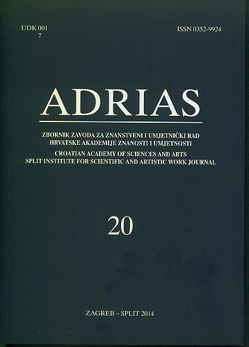 Adrias : zbornik Zavoda za znanstveni i umjetnički rad Hrvatske akademije znanosti i umjetnosti u Splitu