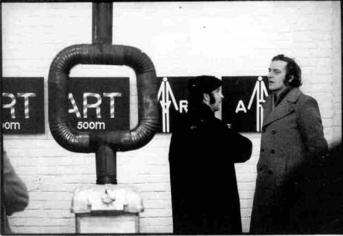 Bućan, Boris (1947-3-15): Izložba Bućan-Art, Galerija Studentskog centra, 9. do 24. veljače 1973 [Midžić, Enes]