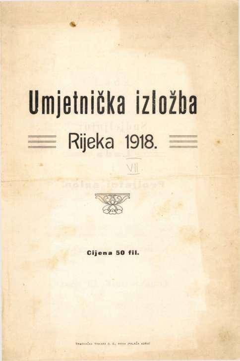 Umjetnička izložba Rijeka 1918.