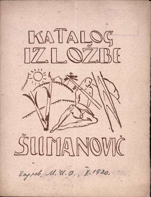 Katalog izložbe Šumanović