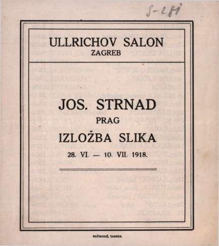 Jos. Strnad Prag