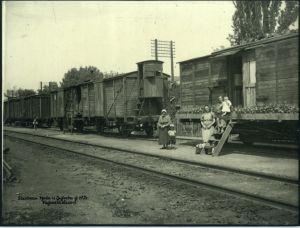 Stambena bijeda u Zagrebu 1924. godine. Vagonski stanovi