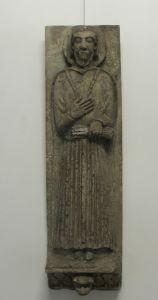 Romanički lik sveca