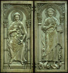 Bogorodica s Djetetom i Krist