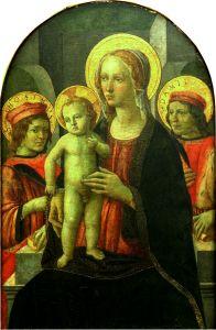 Bogorodica s Djetetom i svetima Kuzmom i Damjanom