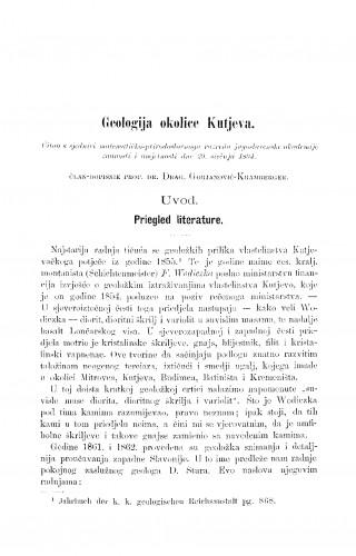 Geologija okolice Kutjeva