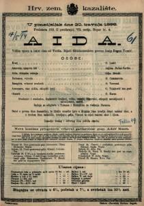 Aida Velika opera u četiri čina / od Verdia