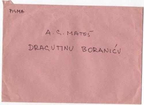 Pisma Dragutinu Boraniću