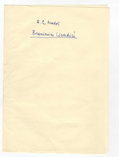 Korespondencija upućena Branimiru Livadiću