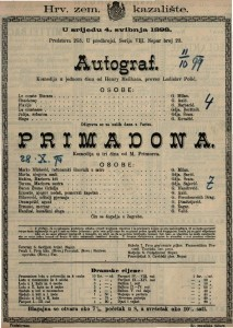 Autograf Komedija u jednom činu / od Henry Meilhaca