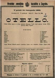 Otello velika lirička opera u 4 čina / uglazbio Giuseppe Verdi