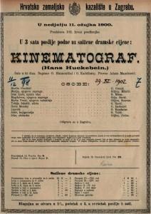 Kinematograf šala u tri čina / napisao O. Blumenthal i G. Kadelburg