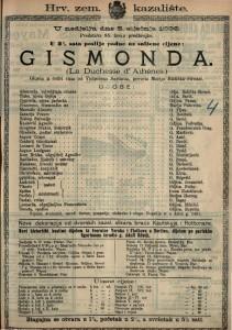 Gismonda : Gluma u četiri čina / od Victoriena Sardoua