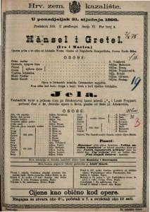 Hänsel i Gretel (Ivo i Marica) Operna priča u tri slike