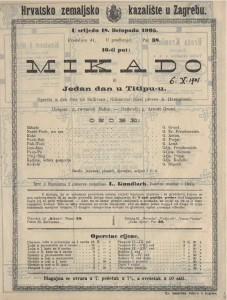 Mikado ili Jedan dan u Titipu-u opereta u dva čina / od Sullivana