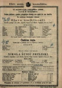 Slava umjetnosti Scenski prolog u tri slike / napisao Stjepan pl. Miletić