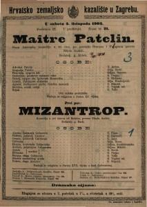 Maître Patelin stara francuska komedija u tri čina / po preradbi Brueysa i Pelraprata