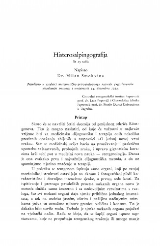 Histerosalpingografija