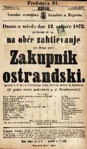 Zakupnik Ostrandski Igrokaz u 4 čina / iz francezkoga polag Gravena