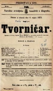 Tvorničar / Henri Hamelin Igrokaz u 3 čina / za pozorište priredio E. Devrient