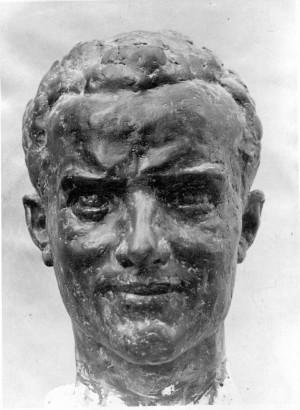 Bakić, Vojin(1915-1992): Portret Rade Končara ]