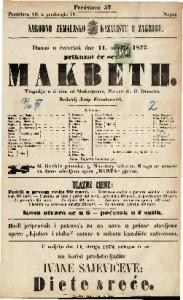 Makbeth tragedija u 5 čina / od Shakespeara