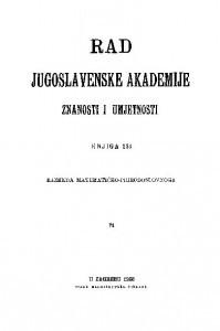 Knj. 71(1928) : RAD