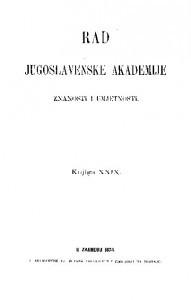 Knj. 29(1874) : RAD