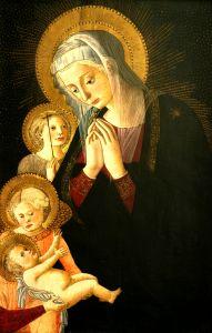 Bogorodica s Djetetom, svetim Ivanom Krstiteljem i anđelom