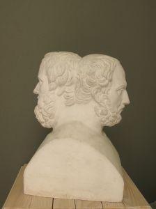 Herodot i Tukidid, dvostrana herma Nepoznat