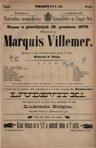 Marquis Villemer : igrokaz u 4 čina / od George Sanda