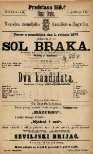 Sol braka dramatična šala u 1 činu / od Görnera