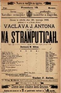Na stranputicah šaljiva igra u 3 čina / francezki napisao Alfred Hennequin