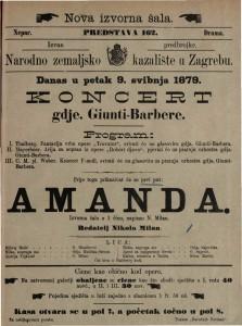 Amanda izvorna šala u 1 činu / napisao N. Milan