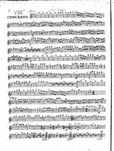 VIIIme concerto : oboe primo