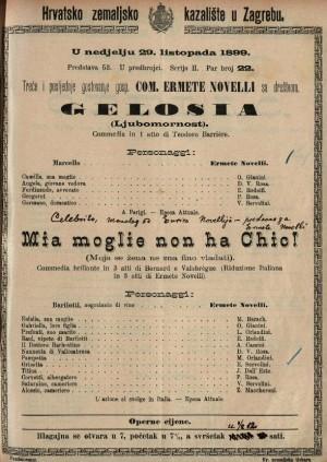Gelosia commedia in 1 atto / di Teodoro Barrière