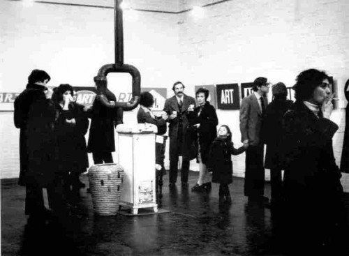 Bućan, Boris (1947-3-15) : Izložba Bucan-Art, Galerija Studentskog centra, 9.- 24. veljače 1973 [Dabac, Petar (1942-6-19) ]