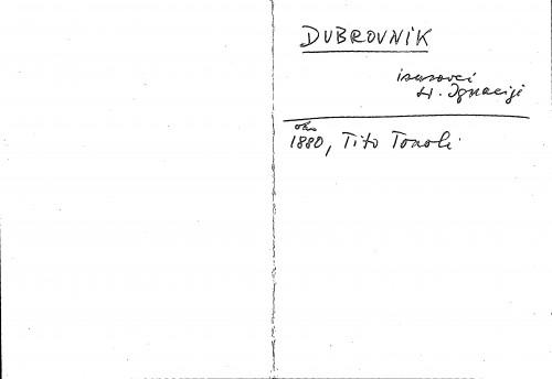 Dubrovnik isusovci sv. Ignacije