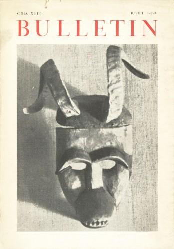 God. 13(1965), Br. 1-2-3 : Bulletin Zavoda za likovne umjetnosti Jugoslavenske akademije znanosti i umjetnosti