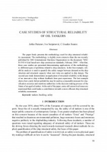 Case studies of structural reliability of oil tankers