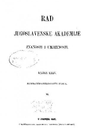 Knj. 6(1885) : RAD