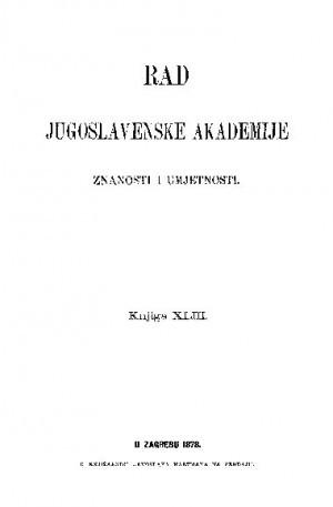 Knj. 43(1878) : RAD