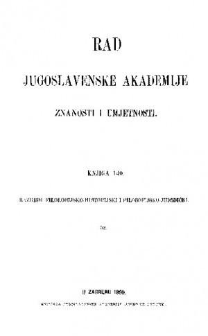Knj. 52(1899) : RAD