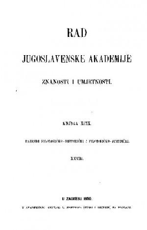Knj. 28(1890) : RAD