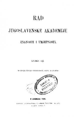 Knj. 39(1906) : RAD