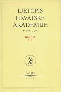 2006. Knj. 110 : Ljetopis